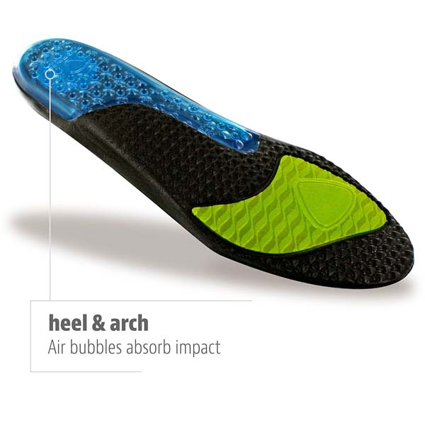 Airr Orthotic Full Length Insole per Lifting Shoe Performance Insole per uomini e donne ZG -203