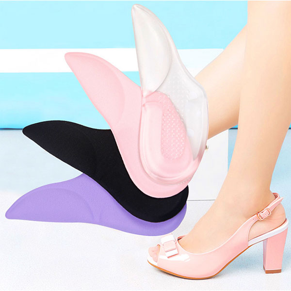 Amazon Hot Selling Women High Heel Shoes Transgenitore PU Gel Cushion Pad ZG -412