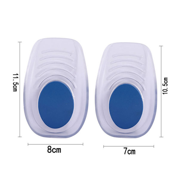 Heel Spur Silicone Gel Heel Lift Height Acking Insole In Sock ZG -465