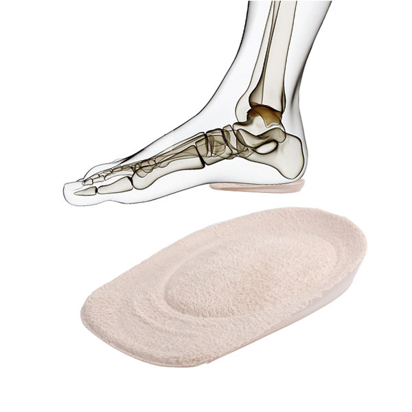Hot Selling Heel Pain Relief Silicone Gel Shoes Heel Inserisci ZG -1882