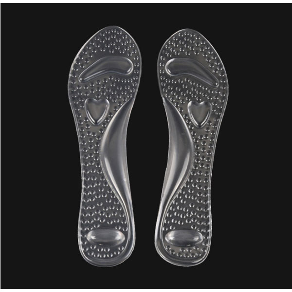 New Foot Care Comfortable Transgenito Sticky Pu Gel Insole for High Heel Shoes ZG -353