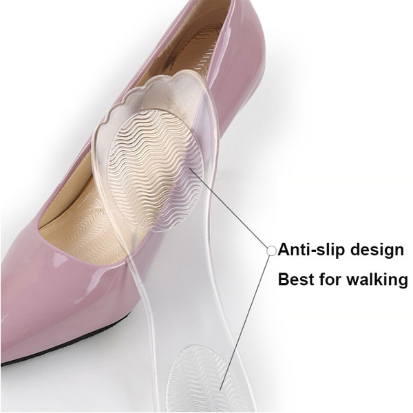 Soft New Lady High Heel 3 /4 Gel Fabric Insole ZG -349