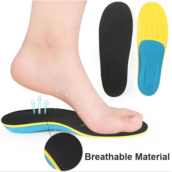 High Elastic Weable Arch Support Flat Foot Correction Orthotic EVA Insole per Adulti ZG -225