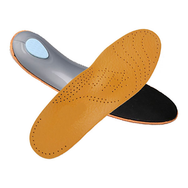 Comfort Cow Leather Arch Support Orthotics Full long Insole per Adulti ZG -1861