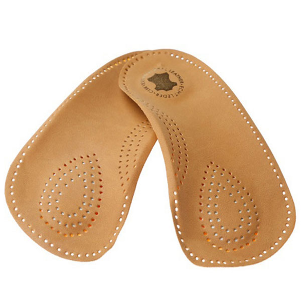 Sheepskin Genuine Leather Inser Metatarsal Massage Arch Support Orthotics Shoe Insole ZG -1863