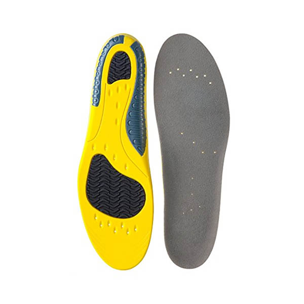 Gel PU Sport Insole Orthotic Arch Support Heel Cushion Insole ZG -1857