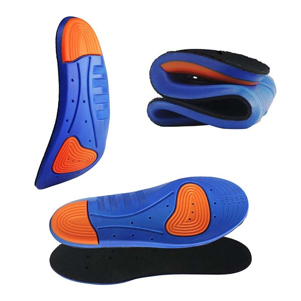 Commercio all'ingrosso Amazon Hot Selling Soft Memory Foam Insole Sport Shoes Pu Insole ZG -1896