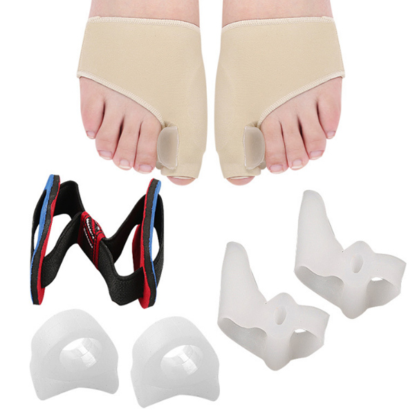 Commercio all'ingrosso Hallux Valgus Bunion Relief Protector Sleves Corrector Kit _ZG-348
