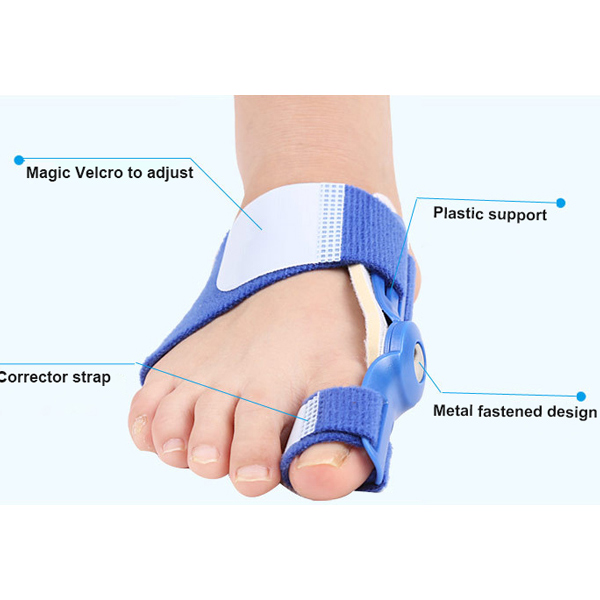 Amazon Hot selling Aggiustabile PVC Straighter Bunion Hallux Valgus Corrector ZG -358