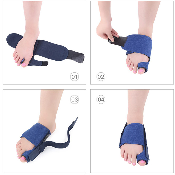 New Hallux Valgus Toe Stretch Bunion Big Toe Corrector ZG -382