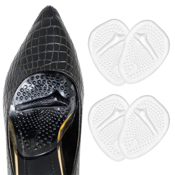 Lady High Heel Shoe Anti slip Insole rimovibili all'inizio del piede ZG -206