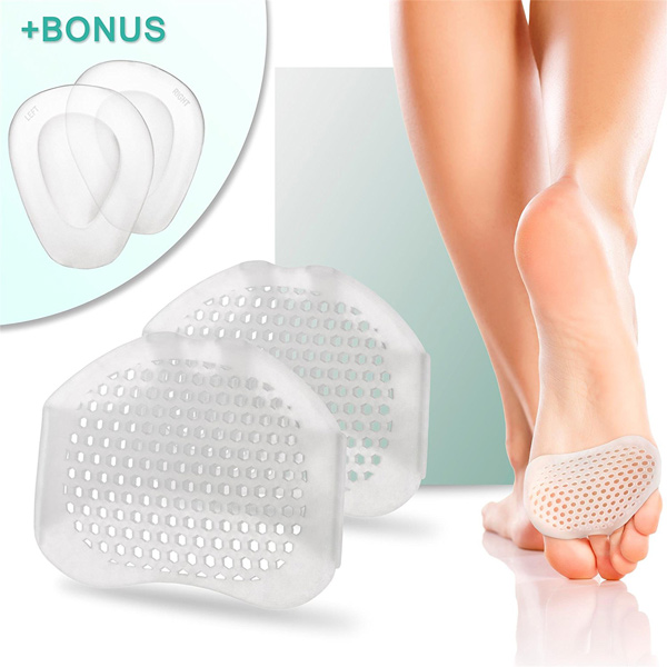 Silicone Soft Gel Riutilizzabile Long Lasting Foot Care Padella Respirabile Padelle Cushioning Padelle ZG -244