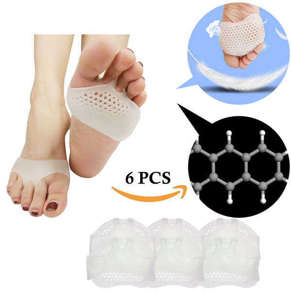 Metatarsal Pads Ball of Foot Cushion Soft Gel for Diabetic Feet Callus Blister Forefoot Pain ZG -246