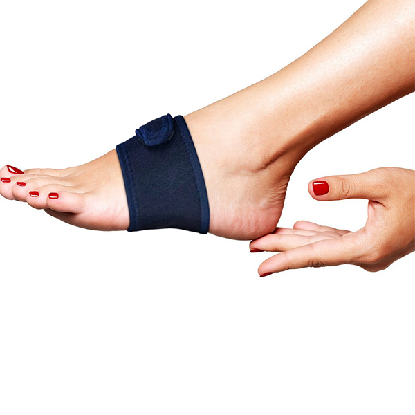 Padded Arch Support Compression Wrap Con Strap regolabile per Arch Pain Plantar Fastias ZG -241