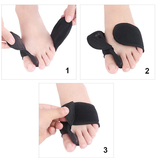 Le signore Cozy Respirabili Adattabili Toe Pad Forefoot Cushion Shoes Fitness for Dance ZG -369
