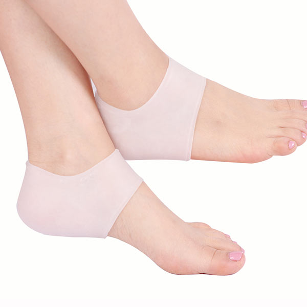 Manufaturer Commercio all'ingrosso Gel Socks per Cracked Feet Silicone Gel heel Protettore ZG -401