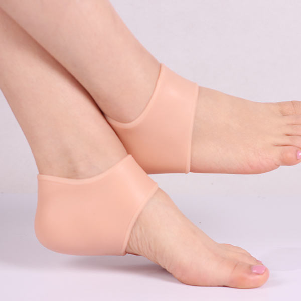 Produttore Commercio all'ingrosso Silicone SEBS Moisturizing Sock Silicone Gel Heel Pad ZG -402