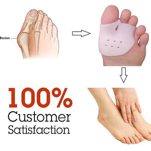 Alta qualità gel Bunion Relief Bunion Shield Pad Toe Protettori Toe Separatori ZG -291
