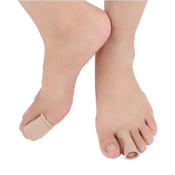 Nuova Arrivale Foot Care Fabric Toe Corrector Soft Silicone SEBS Gel Toe Separatori ZG -423