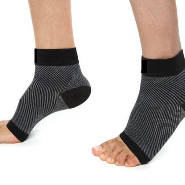 Custom Foot Sleves Compression Heel Arch Support Ankle Sock manico alla caviglia ZG -S7